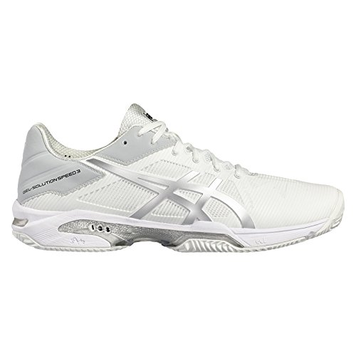 Asics Gel-Solution Speed 3, Sand, Herren, weiß/silber