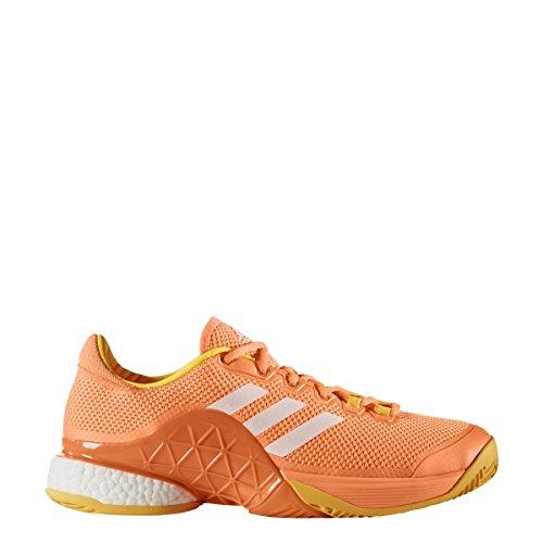 Adidas Tsonga Barricade 2017 Boost, Allcourt, Herren, orange